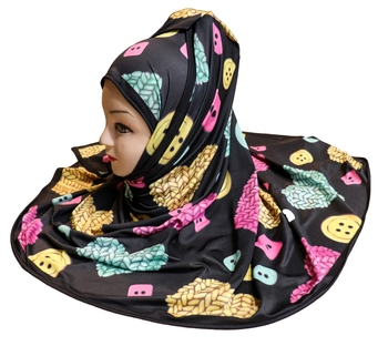 Justkartit Printed Party Wear Designer Hijab Scarf Dupatta For Women