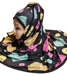 Justkartit Printed Party Wear Designer Hijab Scarf Dupatta For Women