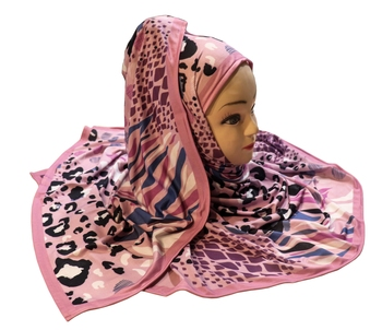 Justkartit Women's Outdoor Wear Designer Digital Printed Jersey Stretchable Hijab Scarf Dupatta
