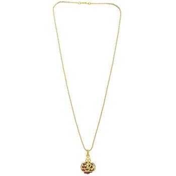 Om Rudraksha Pendant With Chain
