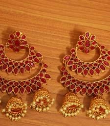 Red Ruby       Chandbali
