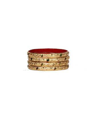 Guarantee Gold  Dyed Bracelets With Floral Design In Multi-Color