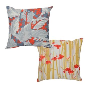Reme Digital Printed Multicolor Cotton Square Cushion Covers
