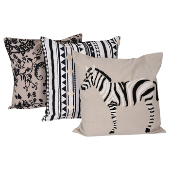 Reme Embroidered Multicolor Cushion Covers