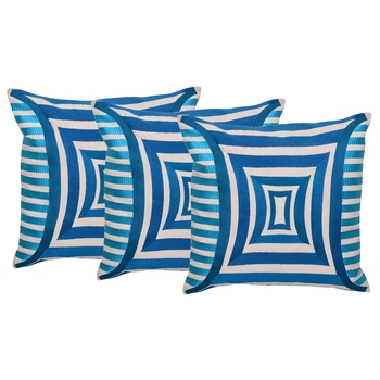 Reme Embroidered Cotton Multicolor Cushion Covers for sofa