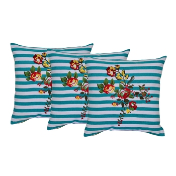 Reme Embroidered Cotton Cushion Pillow Covers