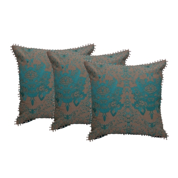 Reme Embroidered Chambray Multicolor Cushion Pillow Covers