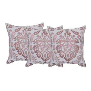 Reme Embroidered Multicolor Cotton Cushion Pillow Covers