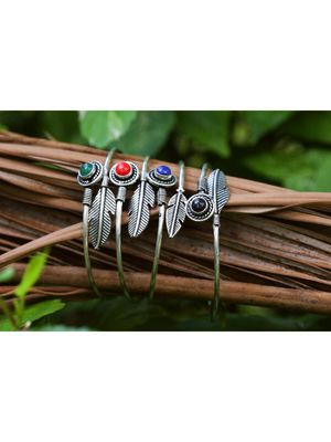 Silver bangles-and-bracelets