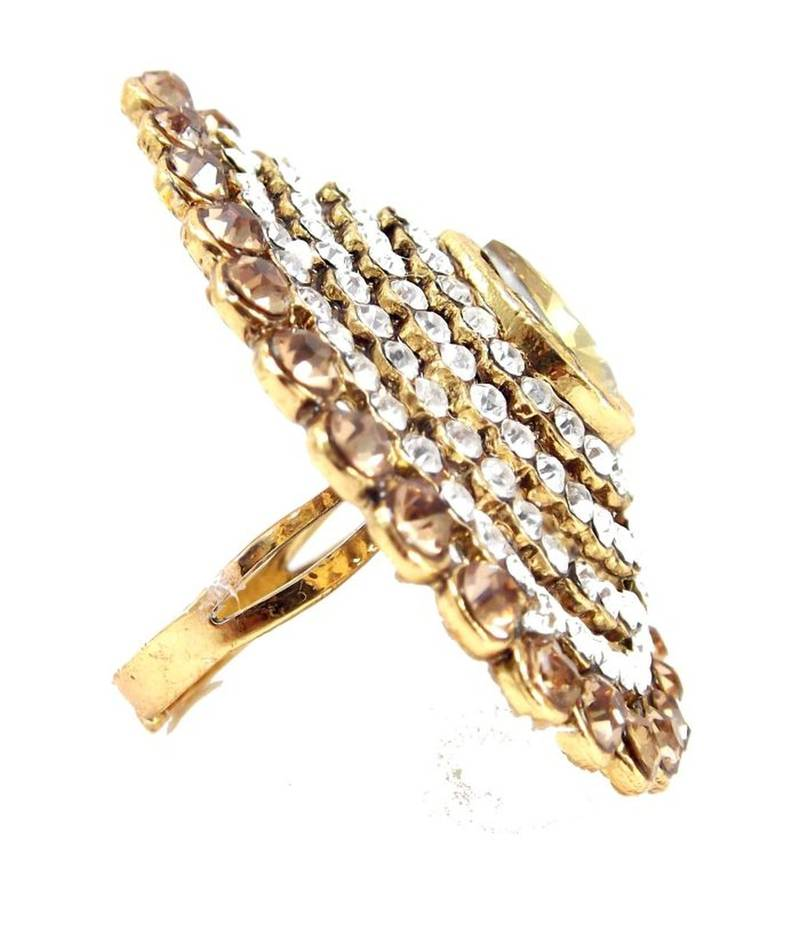 buy wear shion kundan gold plated adjustable