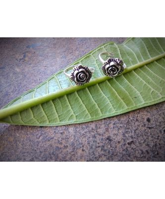 Oxidised Silver Toe Ring