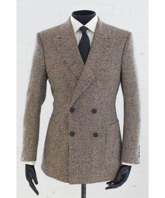 beige wool Latest Design Blazer Coat