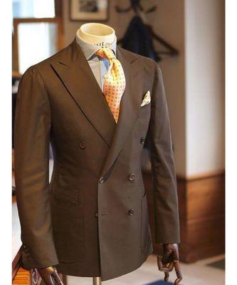 brown wool Latest Design Blazer Coat