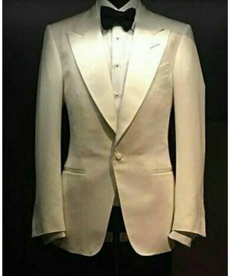 white wool Latest Design Blazer Coat
