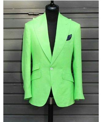 green wool Latest Design Blazer Coat