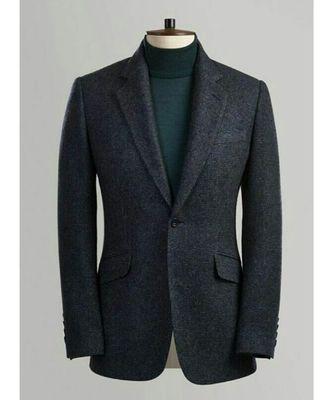 black wool Latest Design Blazer Coat
