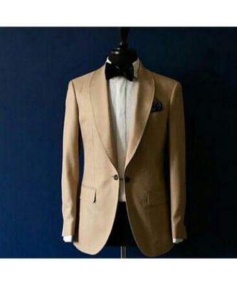 beige wool Latest Design Blazer Coat