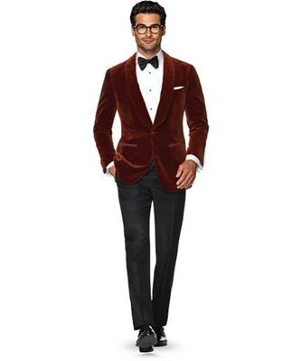 brown Jodhpuri Velvet Suit