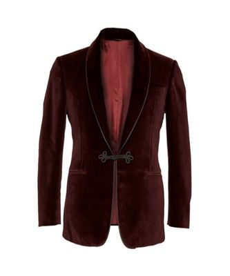 maroon Smoking Blazer Latest Design