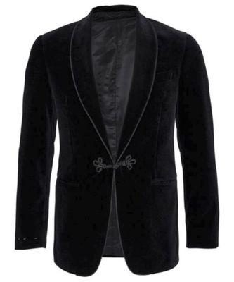 black Smoking Blazer Latest Design