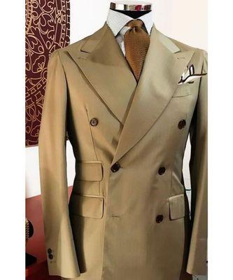 beige Latest Design Blazer Coat
