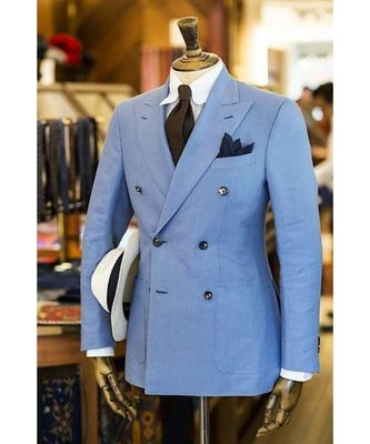 blue Latest Design Blazer Coat