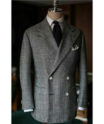 grey Latest Design Blazer Coat