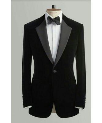 black Latest Design Blazer Coat