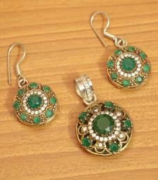 Green Onyx Pendants