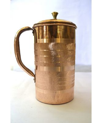 Copper silver touch jug 1 piece