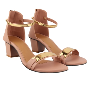 Peach Heel For Women