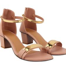 Peach Heel For Women