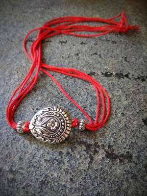 Multicolor Traditional Rakhi