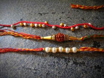 Multicolor Traditional Rakhi
