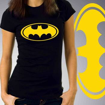 Batman Womens Graphic Cotton Tshirt