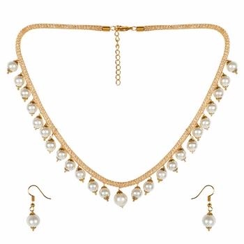 Gold Pearl Jewellery
