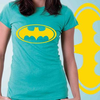Batman Womens Graphic Cotton Tshirt