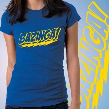 Bazinga Womens Graphic T-shirt at Low Price
