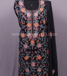 Black Aari Cotton Salwar
