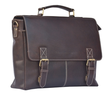 Annodyne Leather Messenger Bags For Men Office Laptop Bag (Dimension : L-15.74 Inch W-4.72 Inch H-11.41 Inch)