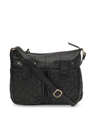Annodyne Unisex Leather Handbag/Side Sling Leather Purse (Brown) …