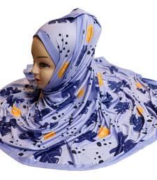 Justkartit Women's Jersey Stretchable Digital Printed Hijab Dupatta Scarf