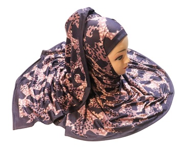 Justkartit Women'S Daily Wear Digital Printed Jersey Stretchable Hijab Scarf Dupatta