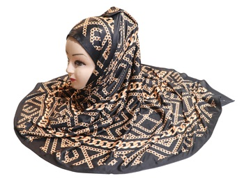 Justkartit Outdoor Wear Jersey Stretchable Printed Dupatta Scarf Hijab For Women