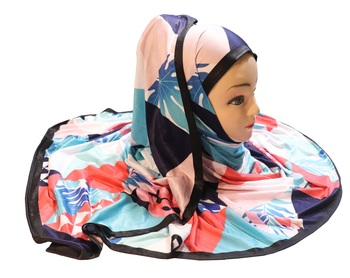 Justkartit Outdoor Wear Jersey Stretchable Material Printed Hijab Scarf Dupatta For Women