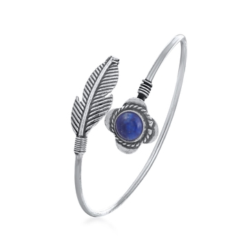 Silver diamond bangles-and-bracelets