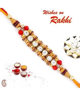 Colorful Joint Beads Mauli Rakhi