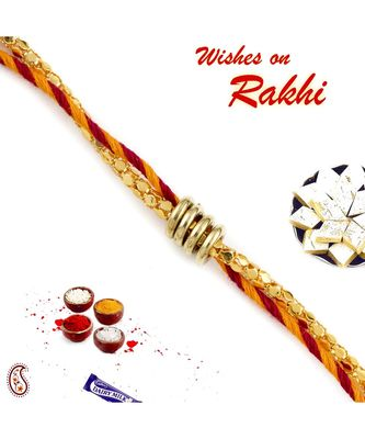 Twisted Ring Mauli Thread Rakhi