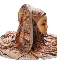 Justkartit Women'S Occasion Wear Digital Printed Dupatta Scarf Hijab