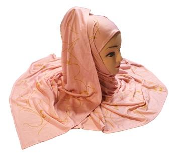 Justkartit Women's Jersey Stretchable Material Casual Wear Printed Hijab Scarf Dupatta